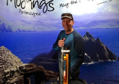 Our owner, Russell, at Guinness in Ireland - Sept 2018