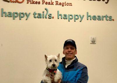 Russell at the Humane Society