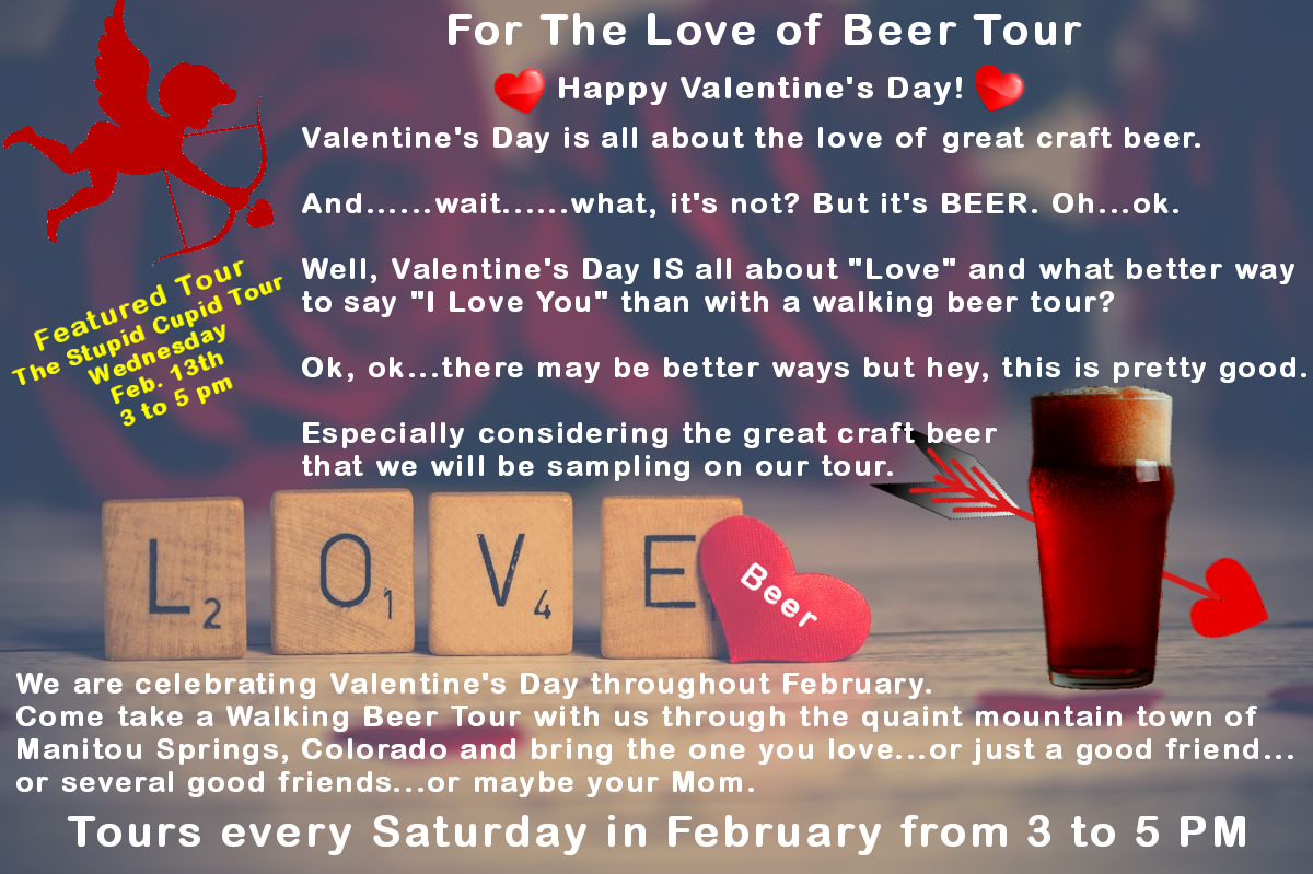 For The Love of Beer Tour Promotion