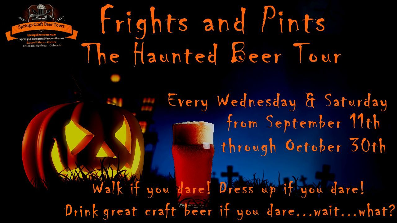 Frights and Pints - The Haunted Beer Tour